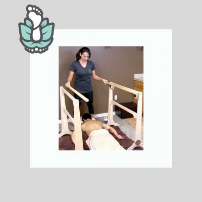 Ashiatsu Portable Floor Bars