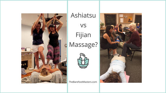 Ashiatsu vs Fijian Barefoot Massage
