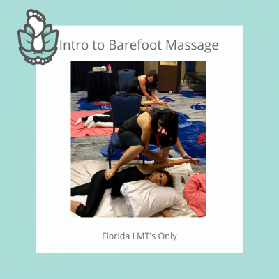 Barefoot Massage Training Intro Home Study Online