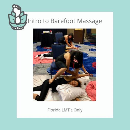 Barefoot Massage Training Intro Home Study Online