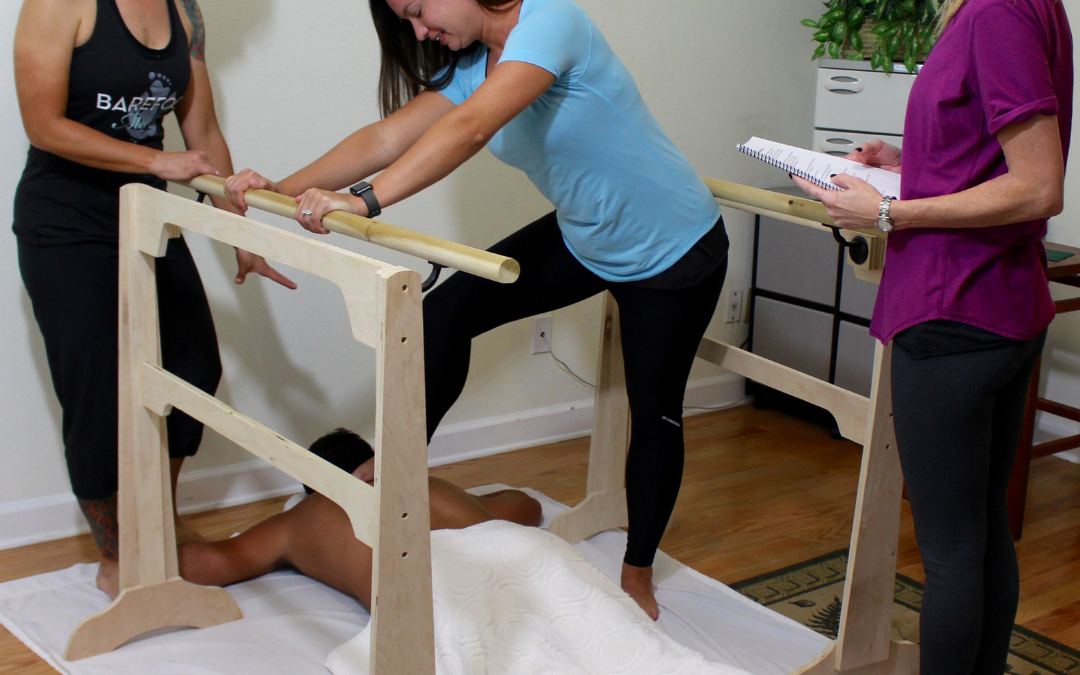 Why Not Offer Portable Ashiatsu Bar Mobile Massage?