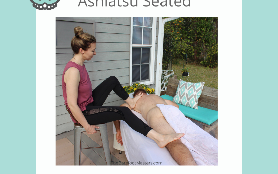 Atlanta GA  Seated Ashiatsu Barefoot Massage Training Class