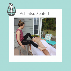 Atlanta GA Seated Ashiatsu Barefoot Massage Training Class