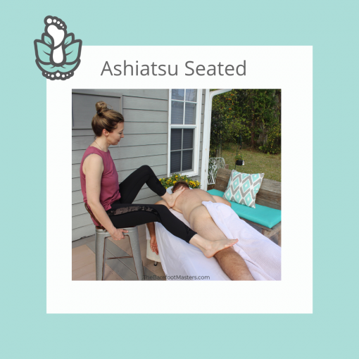 Ashiatsu Barefoot Seated Massage Online CE